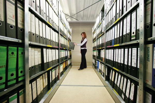 Ordnerregale fuer Archive