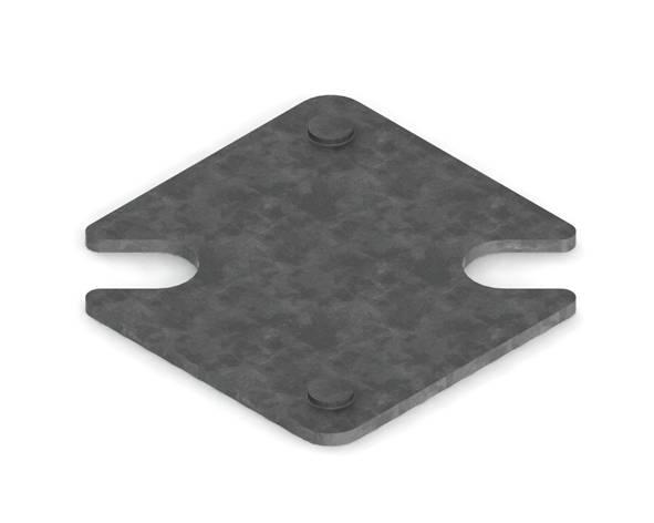 Unterlegplatte 2mm
